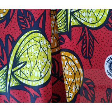 Bright and Fashion Cotton Wax Prints Fabric