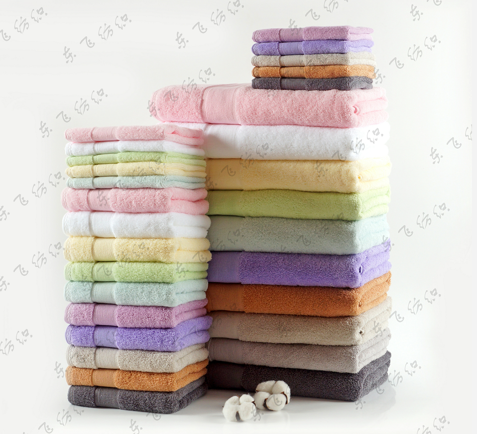 bath towel and beach towel set