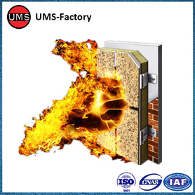 Fireproof insulation wall panels external