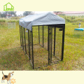 Strong Metal Square Tube Dog Kennel