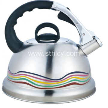 Black Stainless Steel Tea Kettles
