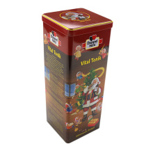Customized Factory Gift Wine Bottle Tin Box