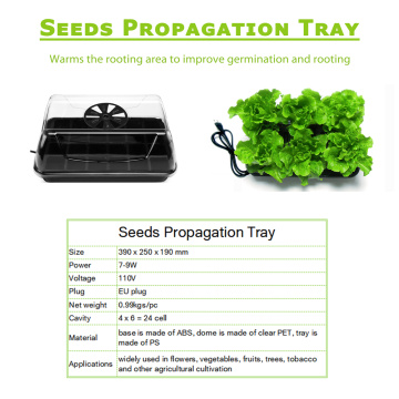 Spírun Station Seed Heat Tray 24 Cell