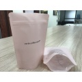 High Quality Plastic Coffee Flat Bottom Stand Up Bag