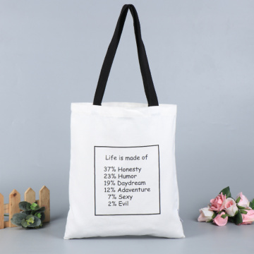 MOQ 100pcs Custom High Quality Canvas Bag