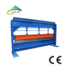 Colored coated roof sheet bending machine