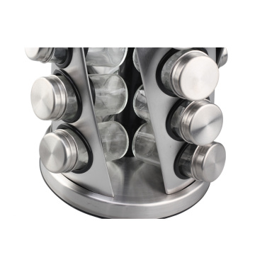 Stainless Steel Condiment Jar For Kitchen