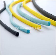 Colorful PET Self Closing Cable  Braided Sleeve