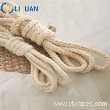 Braided cotton macrame rope