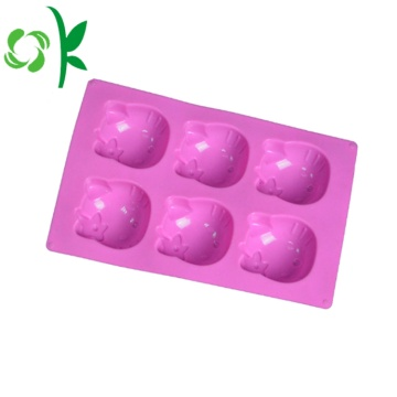 Silicone Cake Baking Cookir Mould Cartoon Charater Mold