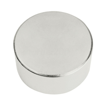 Plating Nickel D45XH25 Axial Magnetized Neodymium Magnet
