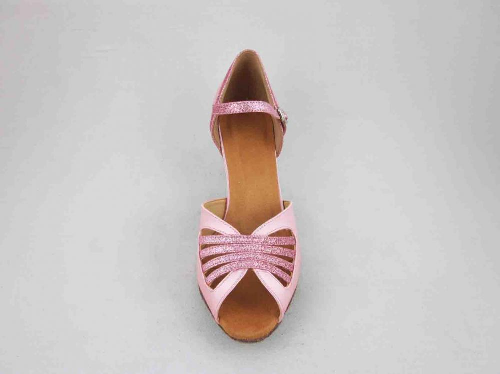 2 5 Inch Pink Salsa Shoes