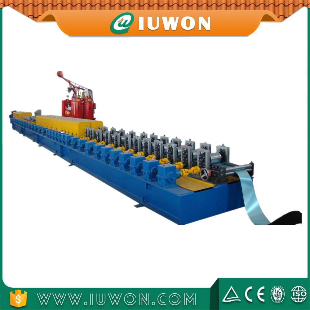 PU Sandwich Shutter Door Roll Forming Machine