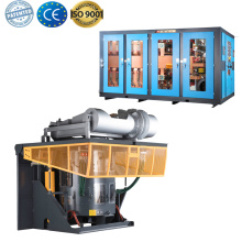 Copper scrap used melting induction furnace for sale
