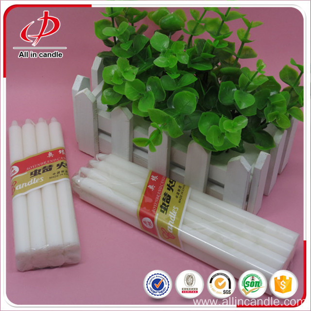 Flameless household emergency lighting white stick candle