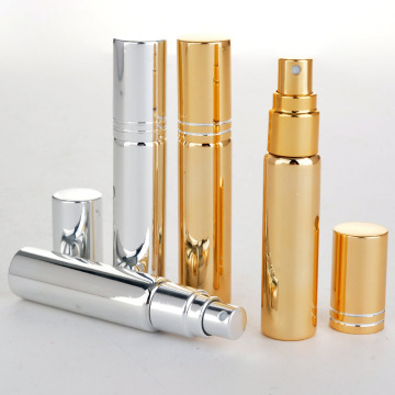 Glass tube aluminum spray perfume spray bottles