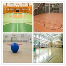 OEM for Volleyball Pvc Sports Court Flooring 5mm thick indoor pvc basketball flooring supply to Russian Federation Suppliers