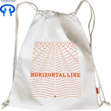 Contracted student backpack horizontal line draw the line