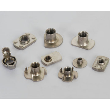 Round base welded nuts