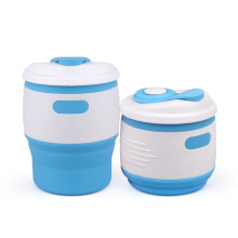 ODM for Collapsible Water Mugs Eco-friendly & FDA standard silicone coffee cup export to Italy Manufacturer