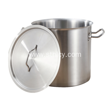 Stainless Steel Soup Pails With Handle And Cover