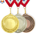 Metal award blank medals for engraving