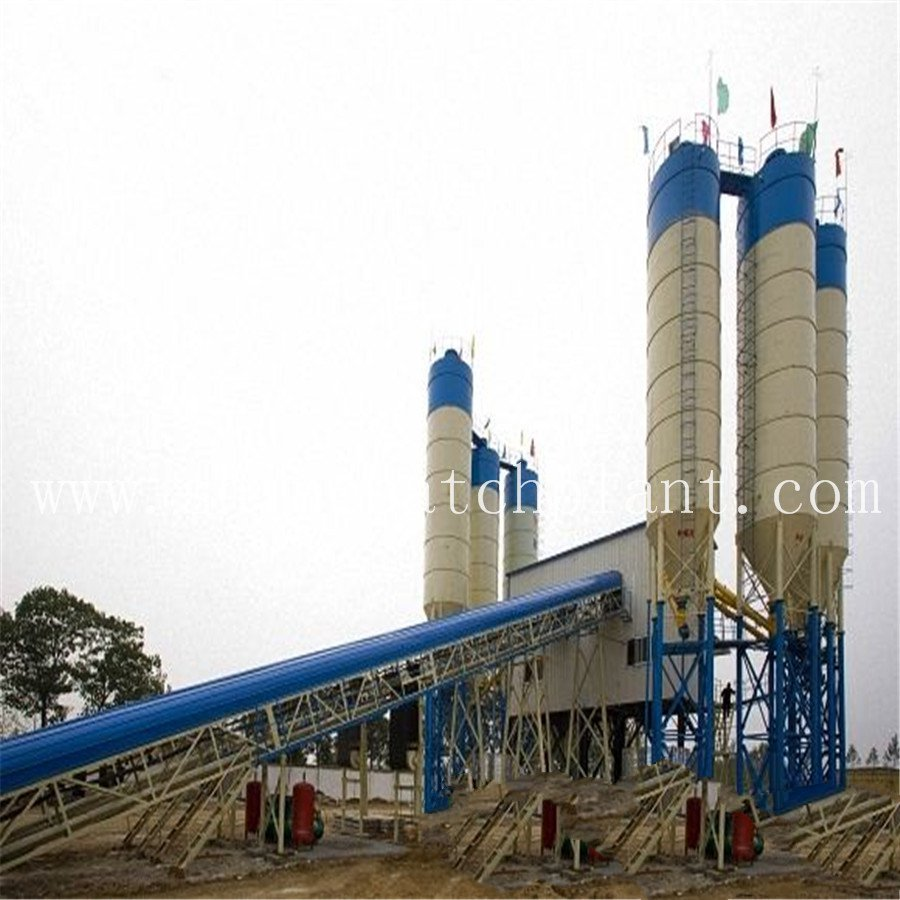Wet Concrete Batch Plant