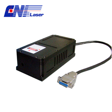 High frequency 473nm blue laser