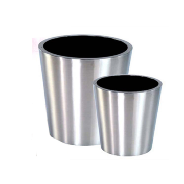 Stainless Steel Trough Planter Flowerpot product