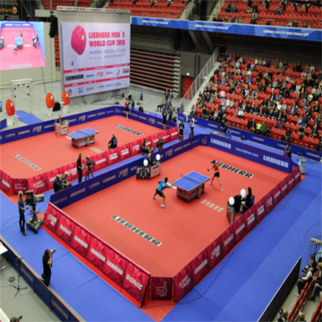 ITTF approved Pingpong sports PVC flooring