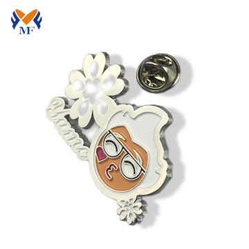 German metal epoxy custom badge fashion design