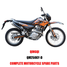 QINGQI QM250GY-D Engine Parts Motorcycle Body Kits Spare Parts Original