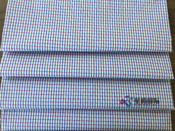 Cotton Woven Plaids Fabric