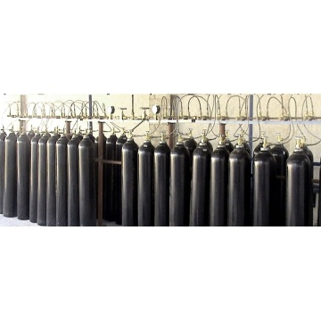 Export Black High Pressure Oxygen Bottle