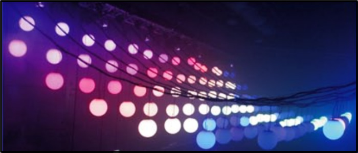 LED disco light ball