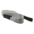 Grey Gray 100% Polyester Lifting Polyester Sling with 4000kgs Breaking Strength
