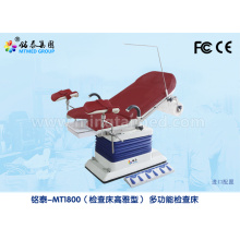 Multifunction gynecology exam table
