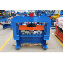 OEM for Roofing Sheet Manufacturing Machine Metal Sheet  Floor Deck Roll Forming Machine supply to Christmas Island Factories