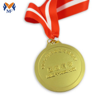 New Arrival for Blank Gold Medal Community volunteer service award metal medal supply to Tuvalu Suppliers