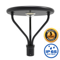 25W Outdoor Solar Led Garden Post Lights