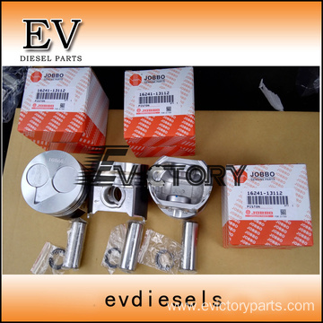 KUBOTA engine piston D1703 Piston ring