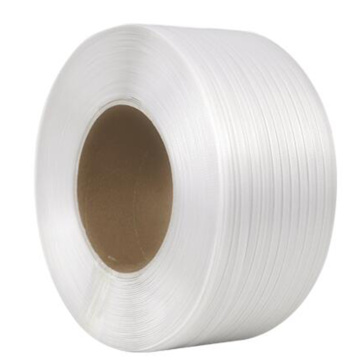 Clear white color virgin material pp strapping band
