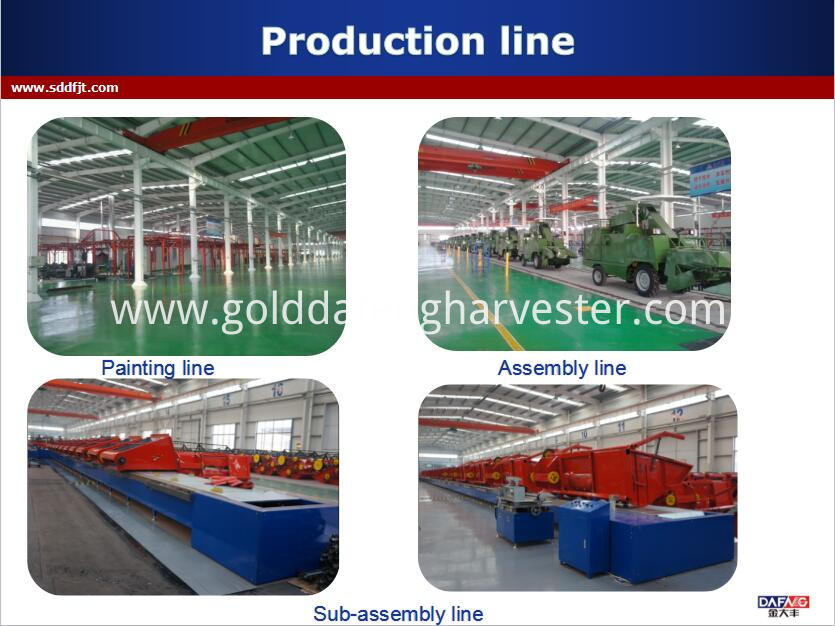Good Functions Rice Combine Harvester For Sale Philippines Product Line001