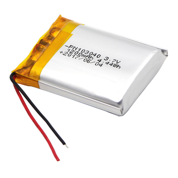 3.7v 1200mAh Lipo Battery For Bluetooth Speakers (LP3X4T10)