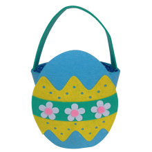 Blue Easter egg candy gift  bucket