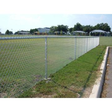 Low Price PVC Coated Used Chain Link Fencing