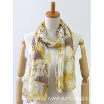 newest colorful long classic printing fashion gift scarf