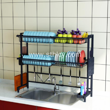 Home Kitchen Stainless Steel Storage Shelf