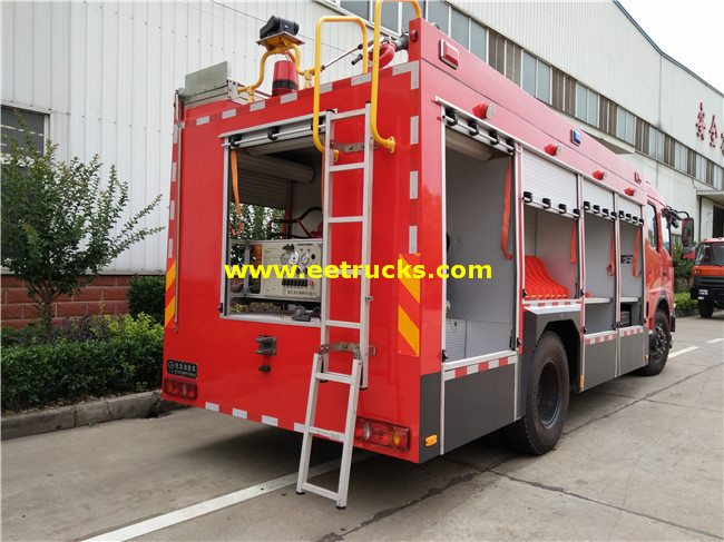 Combined Fire Fighting Truck