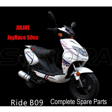 JIAJUE Ride B09 50cc 125cc 150cc Complete Motorcycle Spare Parts